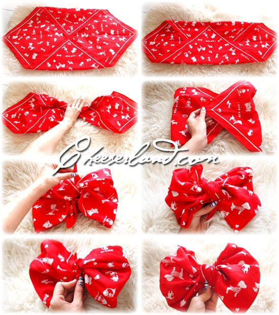 How to make a bow! In few minutes | Cheer