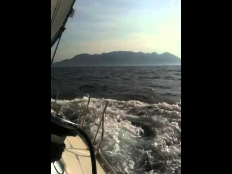 Sailing in the Saronic Gulf on a Jeanneau Sun Odyssey 45.2