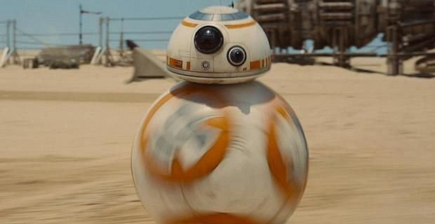Star Wars Force Awakens BB8 Star Wars Droids R2 D2 & BB 8 Take Stage at Celebration Event