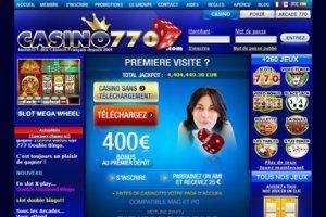 Casino partouche en ligne bonus sans depot