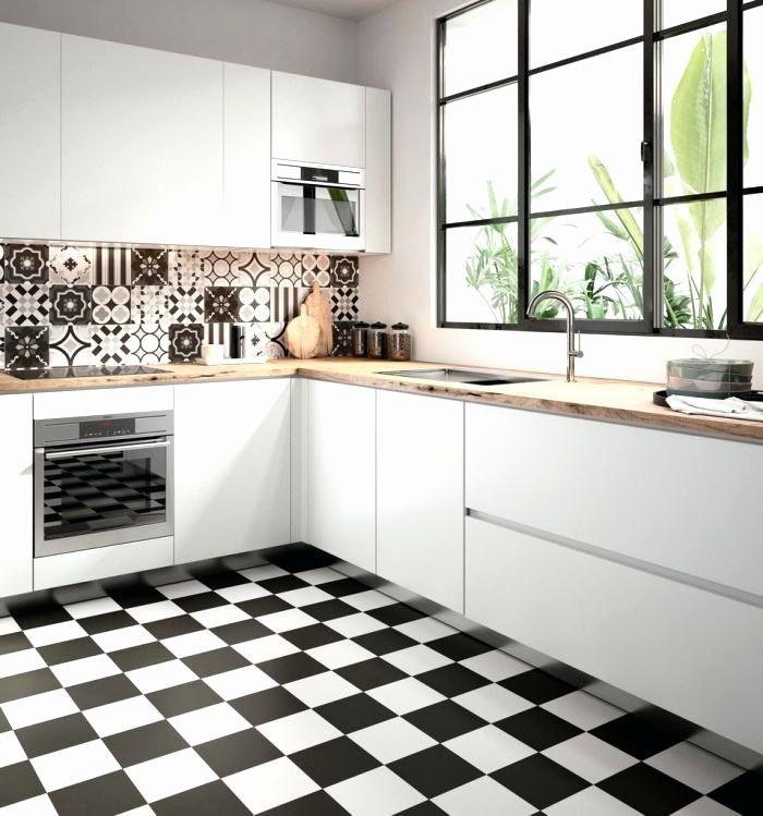 Carreau Ciment Credence Lovely Emejing Cuisine Blanc Et Noir Design Trends 2017 Avec Images Carreau De Ciment Meuble Cuisine Blanc