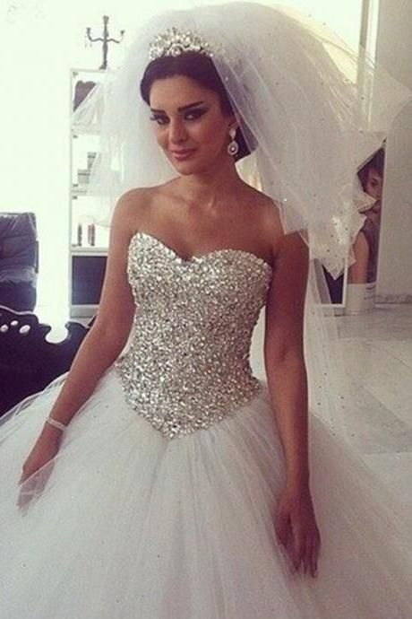 25 best ideas about expensive wedding dress on pinterest for Bling princess wedding dresses