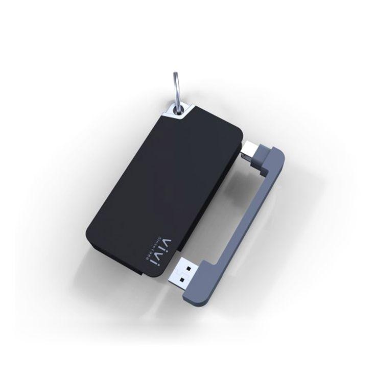 ViVi keychain power bank2000mAh portable battery