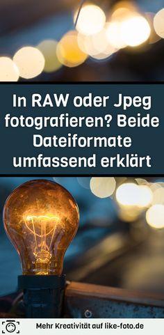 RAW oder Jpeg? In diesem Artikel erfährst du, worin sich die Dateiformate unterscheiden und ob es wirklich zwingend erforderlich ist, immer in RAW zu fotografieren. - Fotografie Tipps