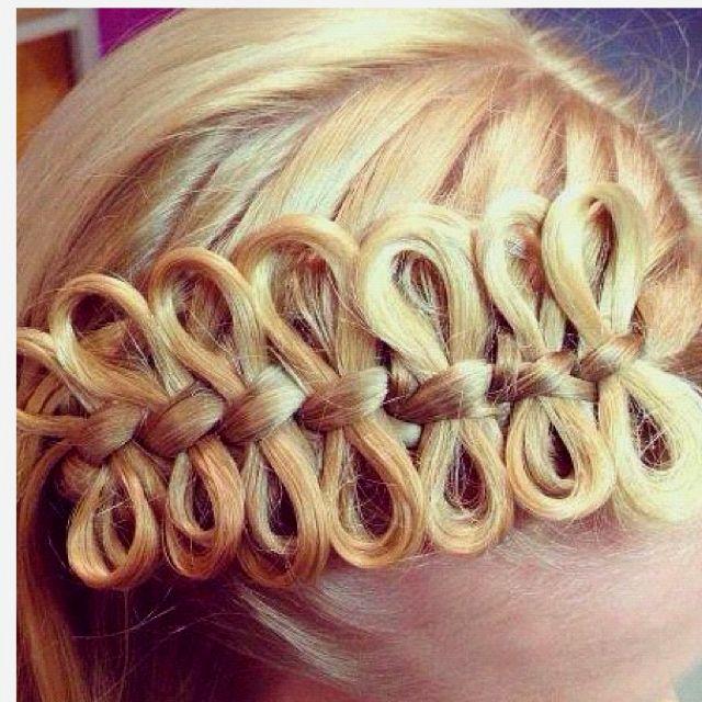 Cute hair bows: Hair Ideas, Hairbows, Hairstyles, Bowbraid, Beautiful, Hair Style, Hair Bows, Bows Braids, Girls Hair