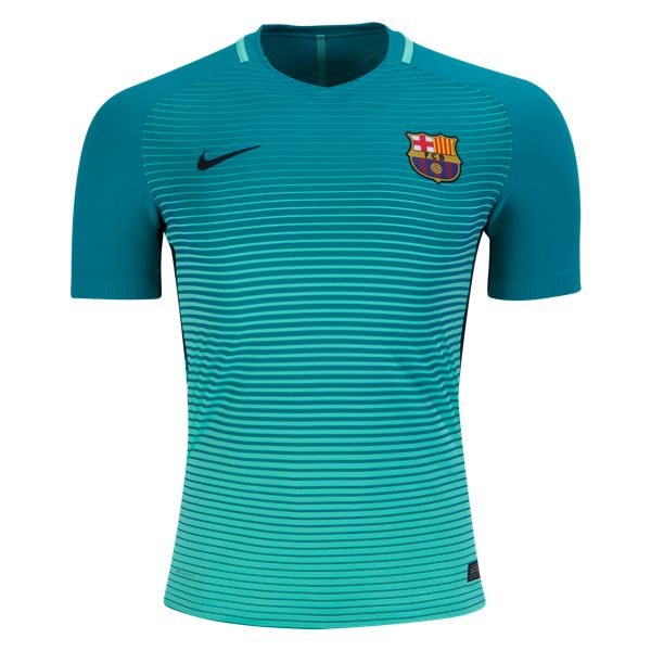 Barcelona 16/17 Authentic Third Soccer Jersey ✮ ✮ ✮ ✮ Awesome gift ideas for any FC Barcelona fan at WorldSoccershop.com
