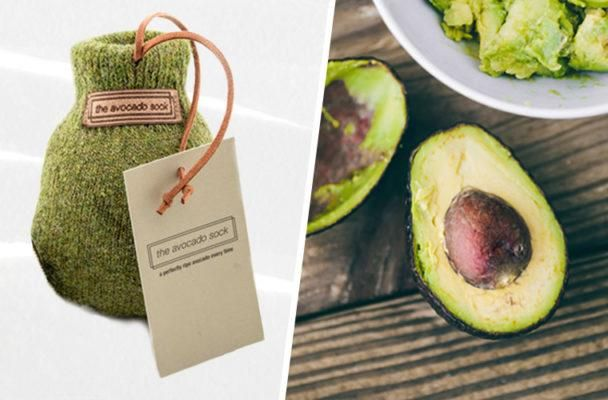 To perfectly ripen your avocado, should you dress it up with a sock?