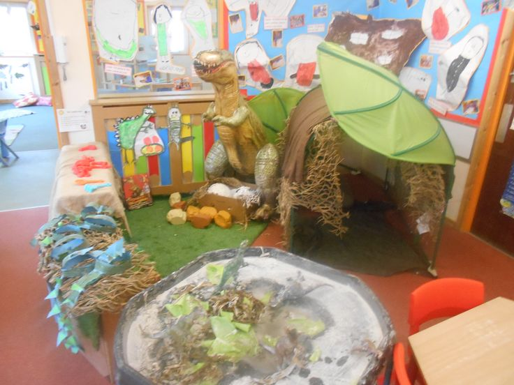 Check out our Dinosaur book corner from Best Friends Worsely