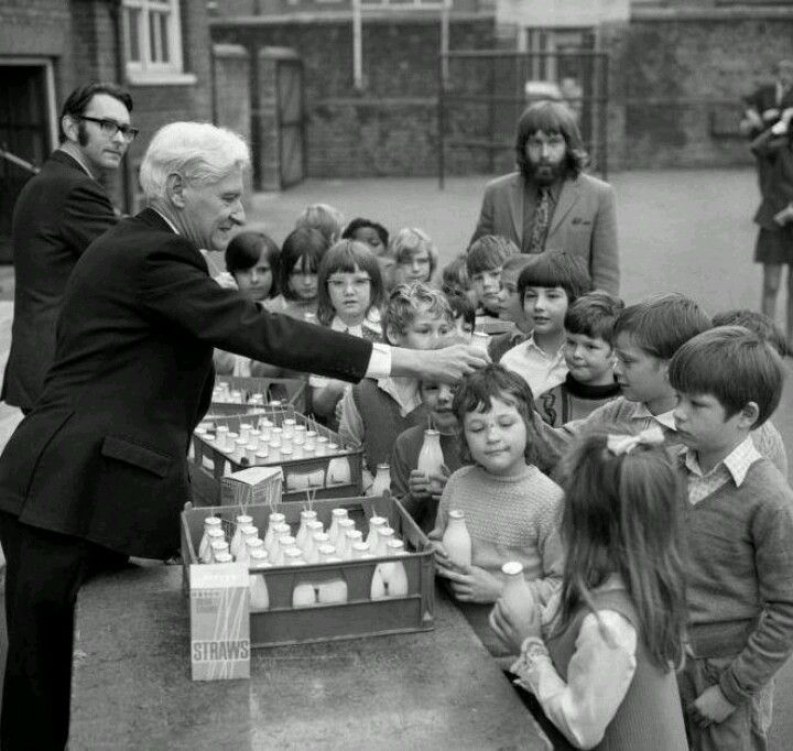 Free school milk...yuk ! It was always warm and sometimes even gone off...