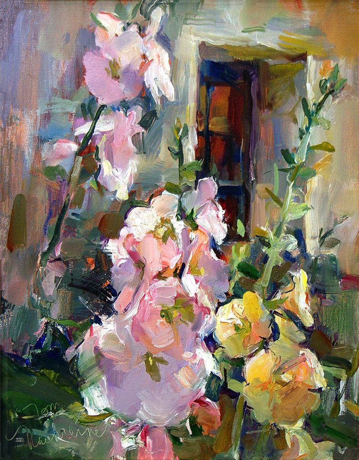 Tom Nachreiner - Gallery_Hollyhocks