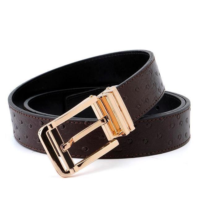 Capo Pelle Designer Mens Belts Italian leather belt Blue suede Red Custom buckle