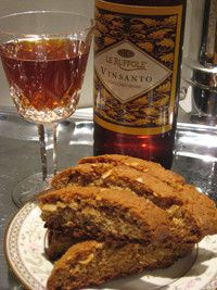 Almond Honey Biscotti Holiday Recipe