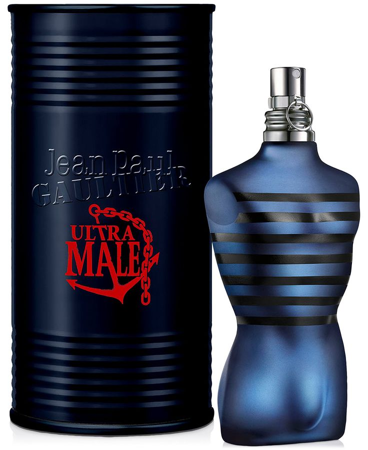 ULTRA MALE Fragrance Collection | Perfume Bottle Design ...
