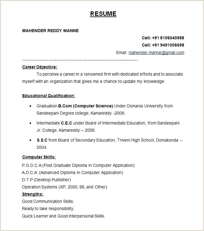 It Fresher Resume Format Download In Ms Word In 2020 Resume Format For Freshers Best Resume Format Job Resume Format