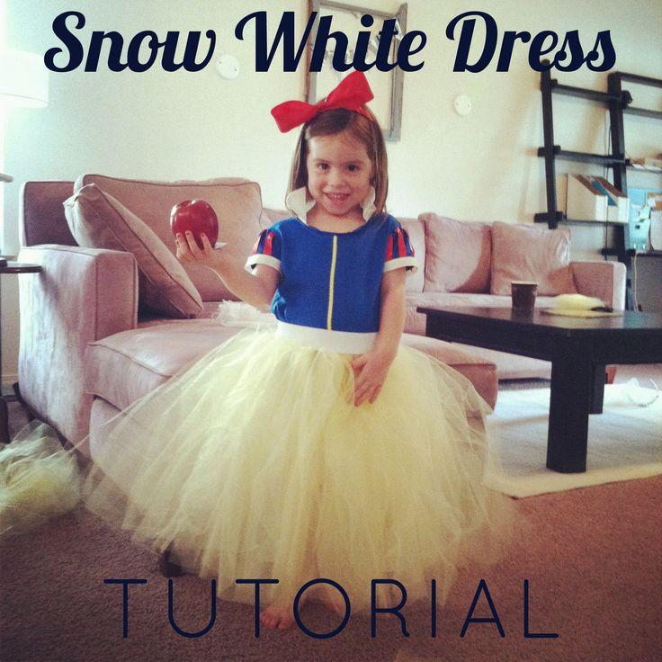 always underfoot: Snow White Dress Tutorial using a blue tshirt