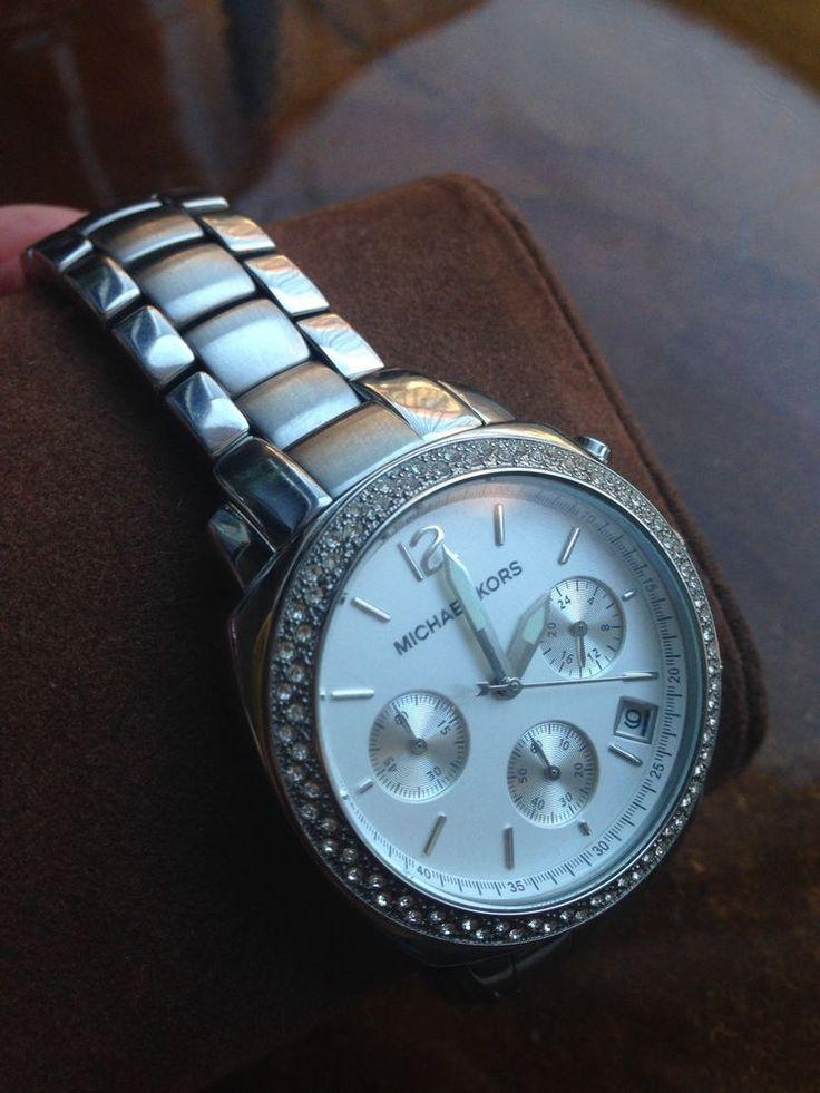 Women Michael Kors Watch Silver MK5178 $225  | eBay