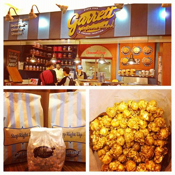 Choose from a selection of sizes, designs and gourmet flavors from our kitchen made fresh daily. Our gourmet popcorn will make a delicious gift for family and friends. Make your gift extra special with Garrett Popcorn.