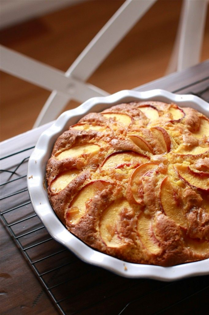 ... and Blueberries on Pinterest | Peach cake, Peaches and Blueberries