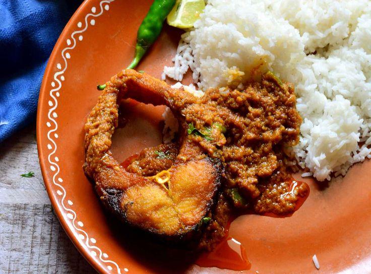 Bengali Bhetki Begum Bahar Recipe (Spicy Fish Fillets Curry)