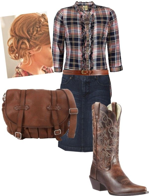 """""""Country Charm"""" by daisyhedo ❤ liked on Polyvore"""