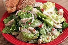 Everyday Italian Tossed Salad--A go-to recipe to pair with any meal