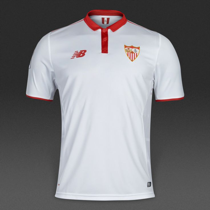 Sevilla FC 2016/17 Home Men Soccer Jersey Personalized Name and Number