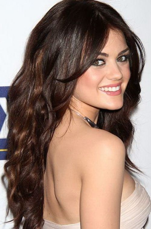 Gorgeous Long Wavy Hairstyles For Girls Cute Hair With Side Bangs