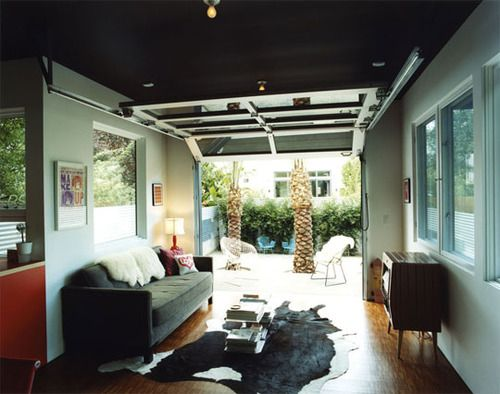 Hey, You Got Living Room In My Garage. No, You Got Garage In