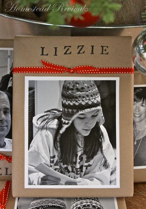 Christmas Gift Wrap @ Homestead Revival Blog