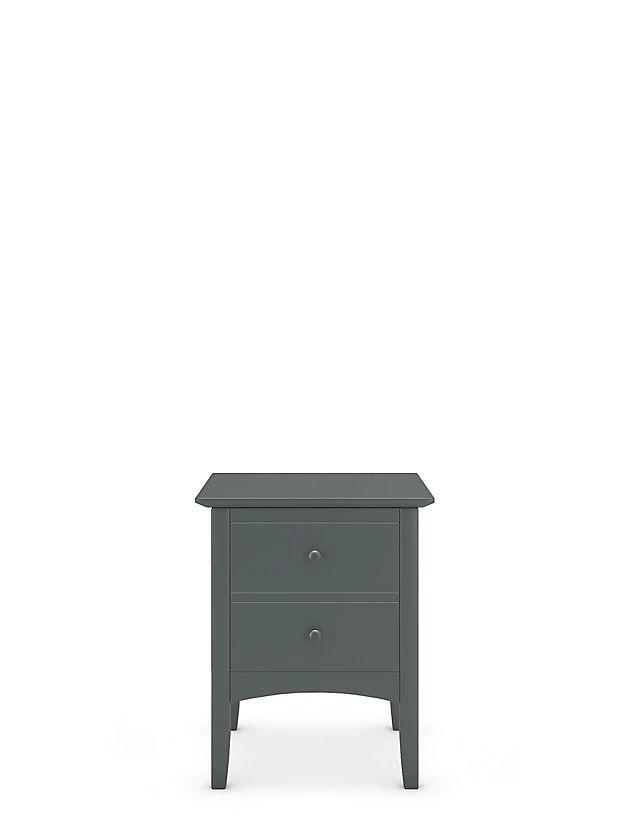 Grey Bedside Tables: Hastings Dark Grey Bedside Table