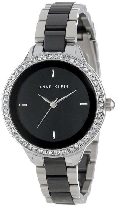 Zegarek damski Anne Klein AK-1419BKSV - sklep internetowy www.zegarek.net