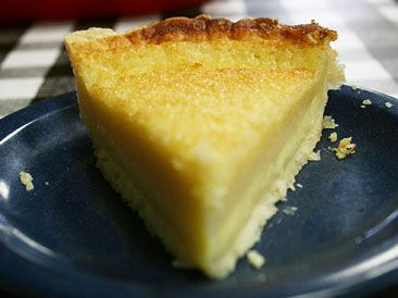 Buttermilk Pie at the Irondale Cafe in Irondale, AL - from The Year of Alabama Food