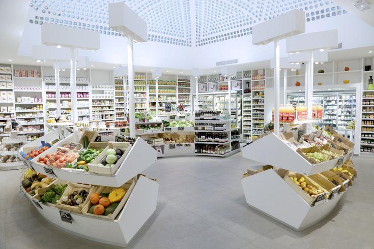 Dada Biocoop Paris épicerie bio par Jeff van Dyc