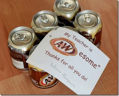 A root beer gift