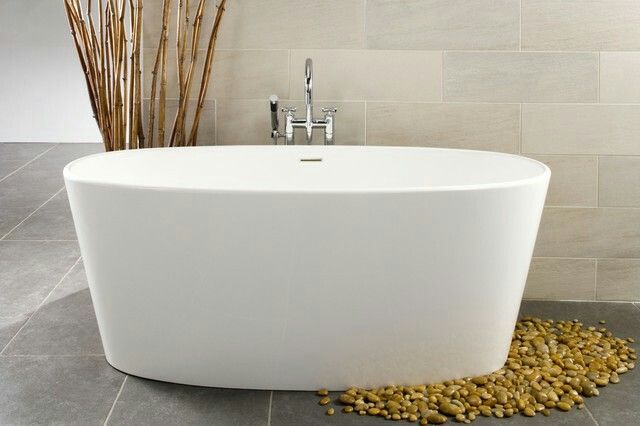 1000 images about how to make a good bathroom planning on for Acrylic vs porcelain tub
