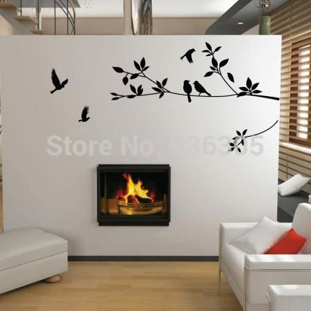 Cheap poster frame, Buy Quality stickers textile directly from China sticker kid Suppliers:         1SET free shipping PVC Large Tree and Bird Wall Sticker Bedroom Decoration Wall Decal Poster for Kids Room
