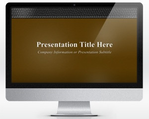 Free Executive Leather PowerPoint Template with Brown background color and widescreen format is a 16:9 widescreen PPT template that you can download for Microsoft PowerPoint presentations to make awesome PowerPoints. You can download this free PPT template to make a formal presentation on business as well as other topics including attorney, legal presentations or any other serious and elegant presentation with a leather template style frame.