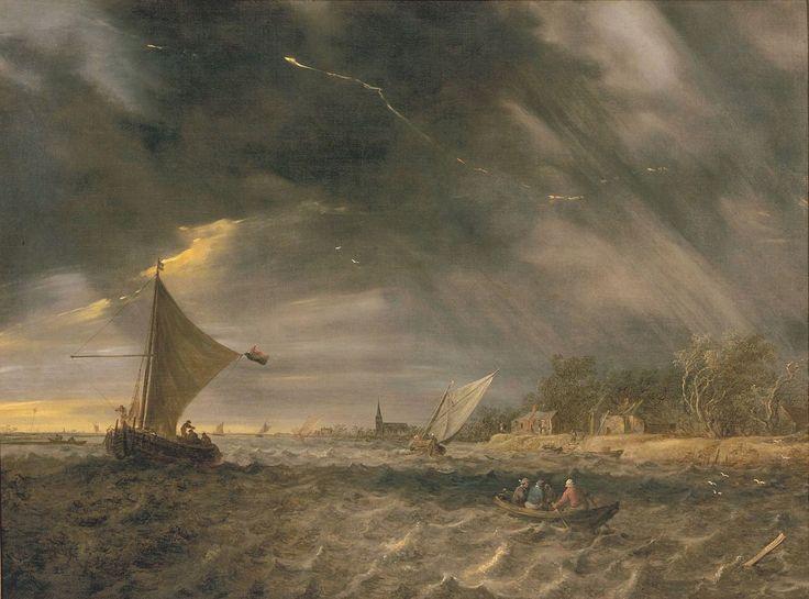 Jan van Goyen - Het onweer