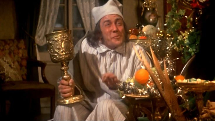 Scrooge with Albert Finney - Classic Christmas movie.  A must-see for the season!