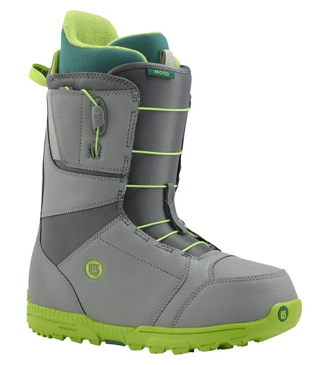 Burton Moto Gray/Green Snowboard Boot 2016
