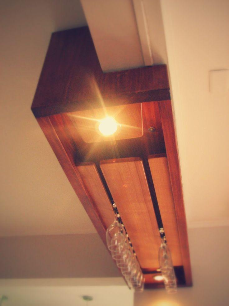 Copero con luces incorporadas.