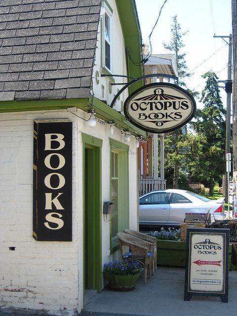 Octopus books, Ottawa, ON