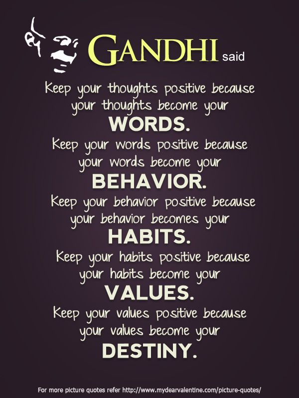 the importance of the words by mahatma gandhi The lessons of mahatma gandhi  putting aside all worldly comforts while enduring harsh words, imprisonment, and beatings  in gandhi's life, we can see the importance of persistence 3 of 8.