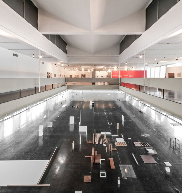 Affonso Eduardo Reidy, Filippo Poli · Museu de Arte Moderna do Rio de Janeiro · Divisare