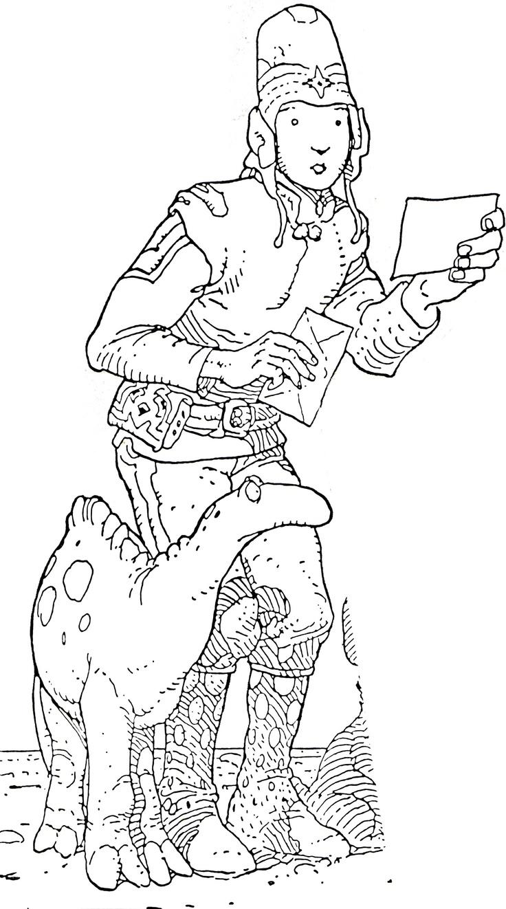 Jean Moebius Giraud  #comics #illustration #moebius