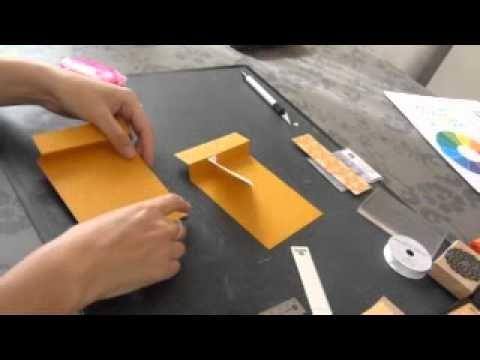 Tutoriel vidéo pour la carte Surprise Pour plus de vidéos : http://lebonheurestdanslapapier.blogspot.com