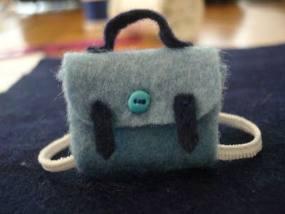 Little backpacks for Sylvanian Families