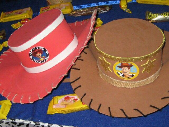 Sombreros Jessie y Woody #cumple PYB#
