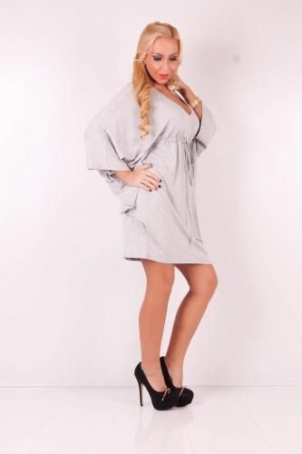 Sexy wide cutted tunic