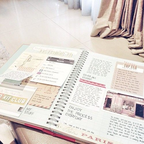 Absolutely stunning journal, if I didn't scrapbook I'd definitely use a journal in this way.
